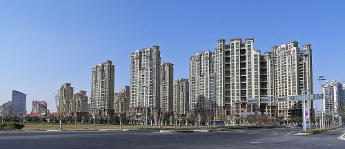 Apartments in Suzhou, China. Source: Wikipedia Commons.
