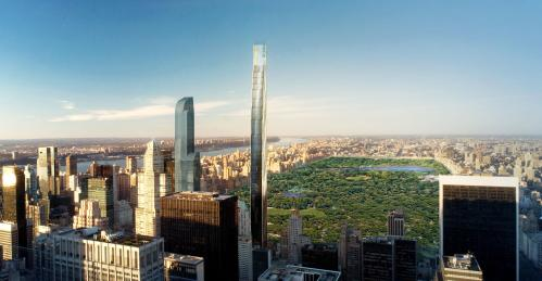 111 West 57. Source: SHoP Architects. (Fair use.)
