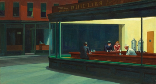 Nighthawks. Edward Hopper (1942).